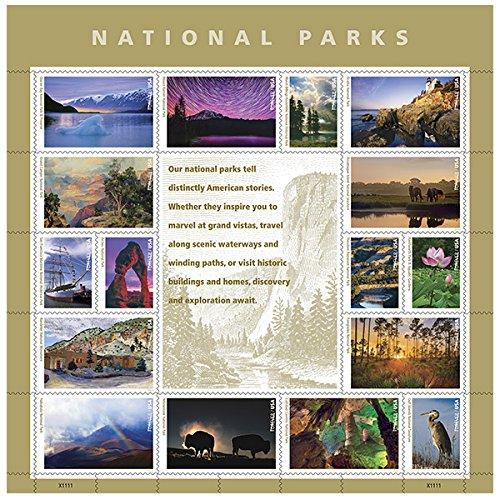 (USPS Forever Stamp: National Parks (2 Sheets))
