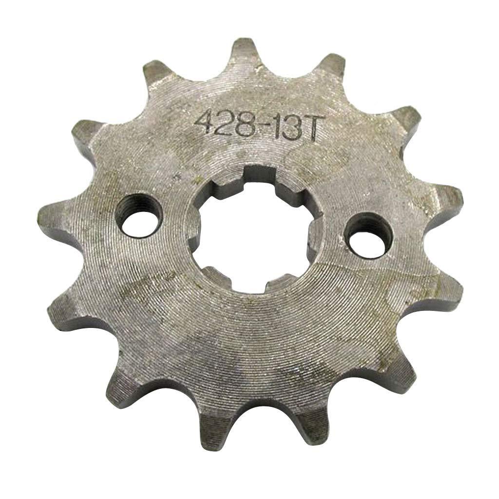perfk Pignon de Cha/îne Avant de Pit Pro V/élo Dirt Bike Trail Bike 18T Dents 20mm