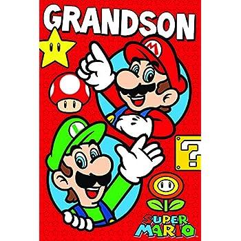 Amazon Super Mario Super Birthday Card Office Products