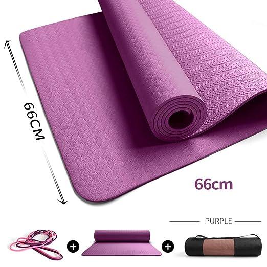 Alloeliey - Esterilla de Yoga Profesional, Multiusos, fácil ...