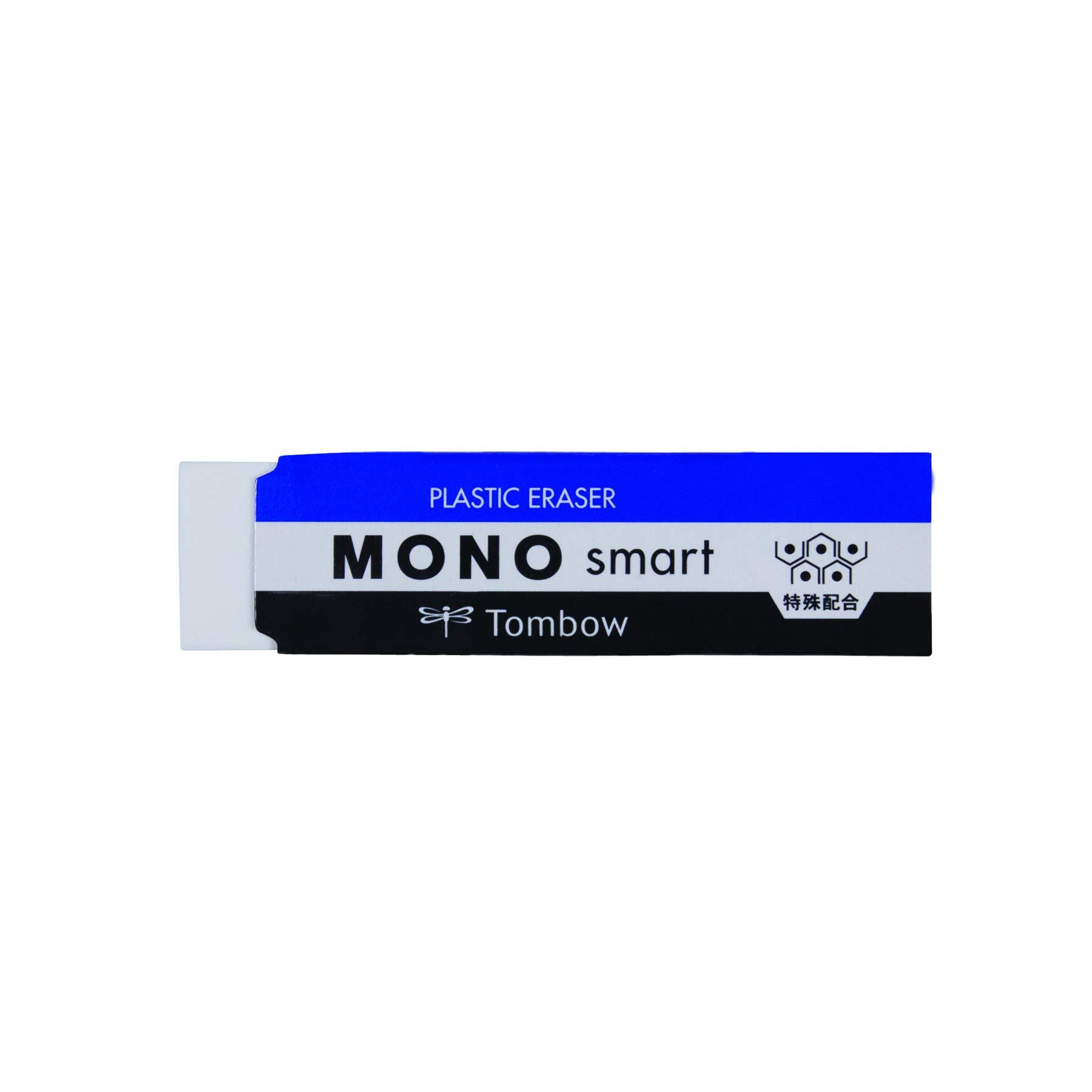 Tombow 57335 Mono Smart Eraser, White, 1 Pack. Ultra Slim...