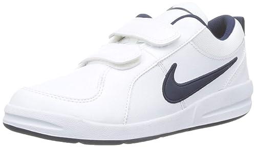san francisco ec04a 24e98 Nike Pico 4 PSV Scarpe Sportive, Bambino, Bianco (White   Midnight Navy)