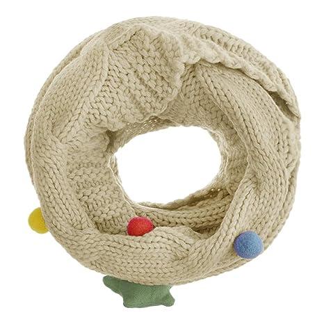 Écharpe étoiles Cercle écharpe châle avec grosse Torsade Cache-cou tubulaire  en maille Snood tricoté chaude avec thème de la voûte étoilée pour Enfants  ... 63490b985ce