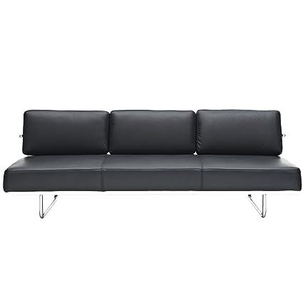 Prime Amazon Com Modway Charles Convertible Sofa In Black Lamtechconsult Wood Chair Design Ideas Lamtechconsultcom