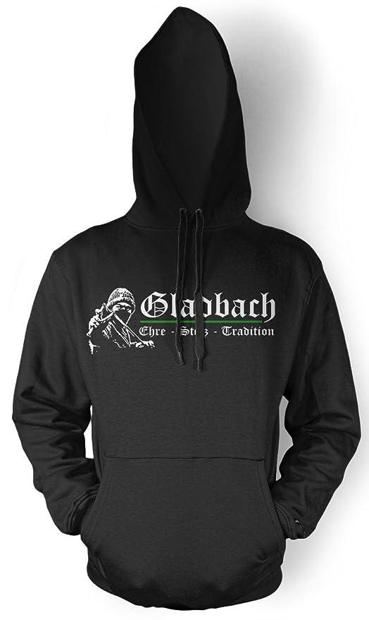 Gladbach Ehre   Stolz Kapuzenpullover   Männer   Herren   Sport   Nordrhein  Westfalen   Fussball   Ultras   Trikot  Amazon.de  Bekleidung 853431e4da