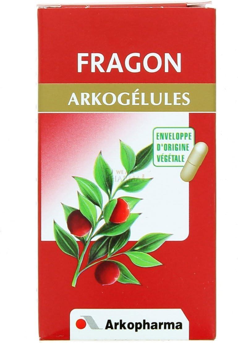 ARKOPHARMA - Fragon Arkogélules 45 gélules Arkopharma: Amazon.es: Salud y cuidado personal