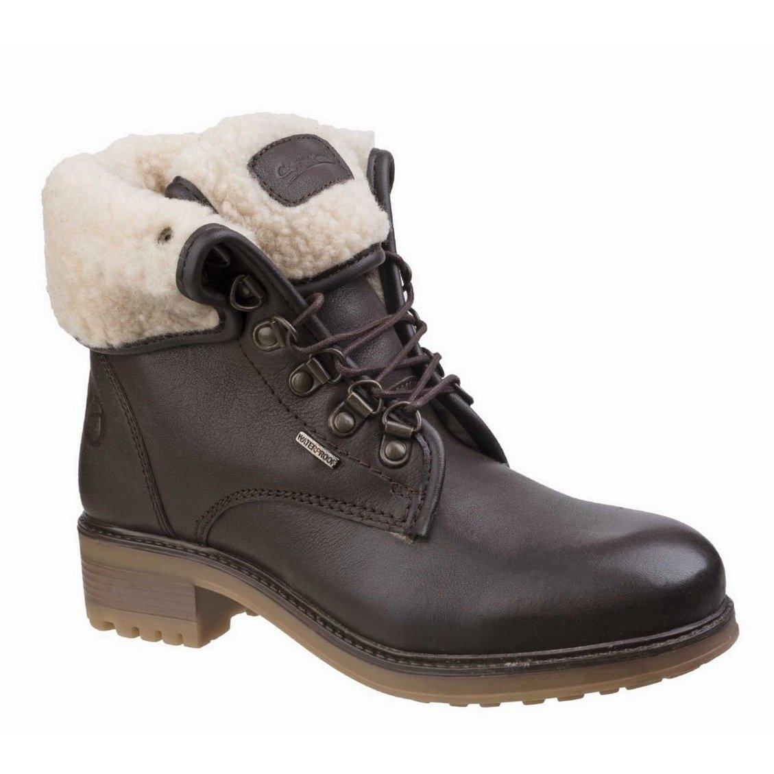 534c8263574 Cotswold Womens/Ladies Asthall Waterproof Boots (9 UK) (Black ...