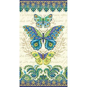 Dimensions Cross Stitch Kit - Peacock Butterflies