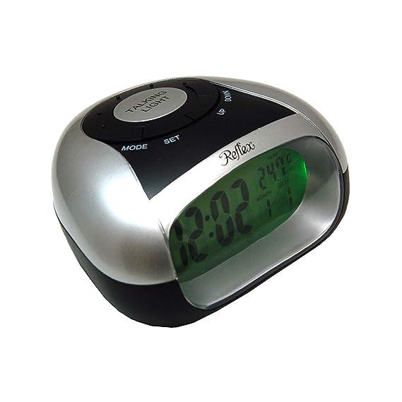 Reflex 908 - 3103 - Reloj de pulsera, correa de plástico color plateado: Amazon.es: Relojes
