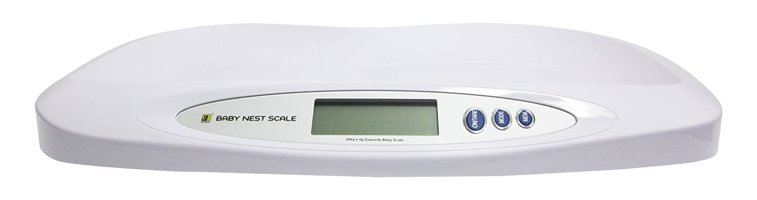 My Weigh Jennings Nest Scale Báscula de bebé blanco 20 kg x 5 G: Amazon.es: Bebé