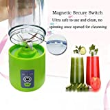Portable Juicer with Travel Sport Bottle Electric