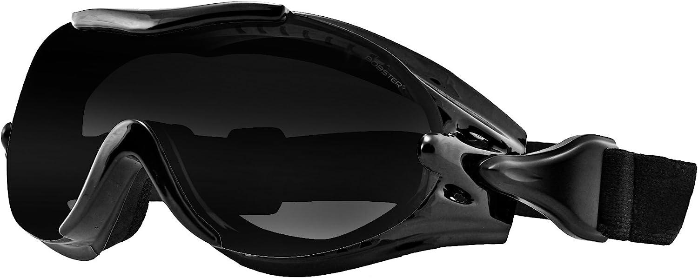 Gafas Moto BOBSTER PHOENIX -3 Lentes Intercambiables-Gafas GRADUADAS 2601-0735