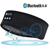 Sleep Headphones Bluetooth Headband-Wireless Sports Headband Headphones with Ultra-Soft Music Headband-Perfect Sleeping…