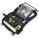 WYNEX Tactical Molle Admin Pouch, Upgrade Material Semi-Hidden Zipper & 1000D Tough Nylon EDC Utility Pouches Tools Bag…