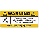NEW GPS盗難防止ステッカー(自動車用) 再帰反射 完全防水 GPS自動車