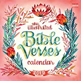 Illustrated Bible Verses Wall Calendar 2019