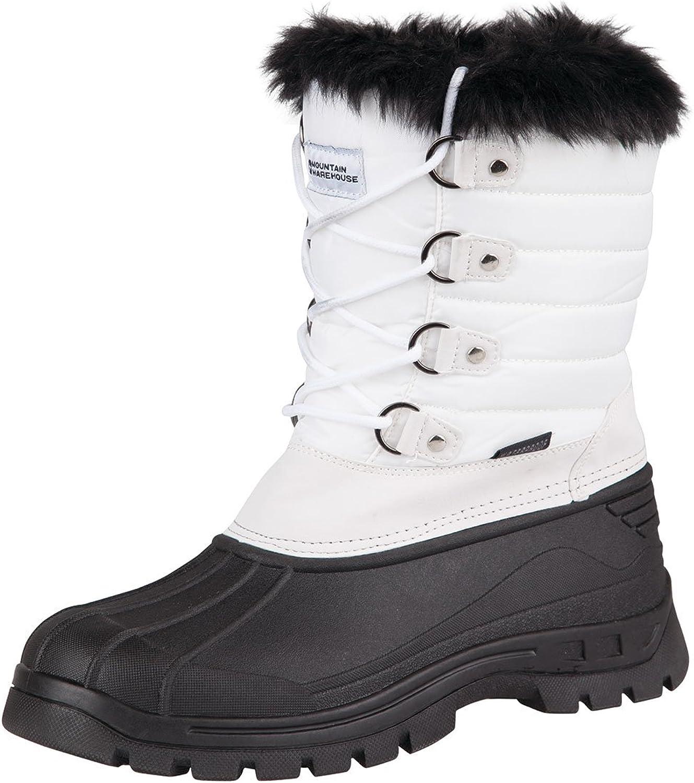 Mountain Warehouse Whistler Femme Bottes De Neige Hiver Marche Snowproof Femmes