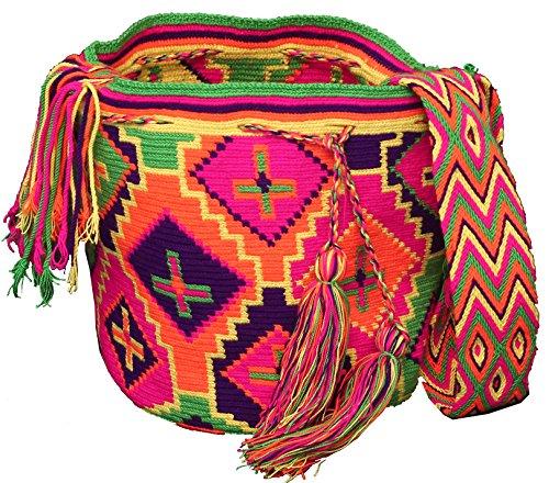Handmade Wayuu Mochila Shoulder Bag
