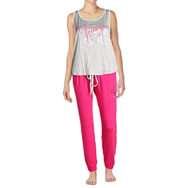 Juicy Couture Womens Logo Tank Pajama Set at Amazon Women s Clothing store  a715a7c00