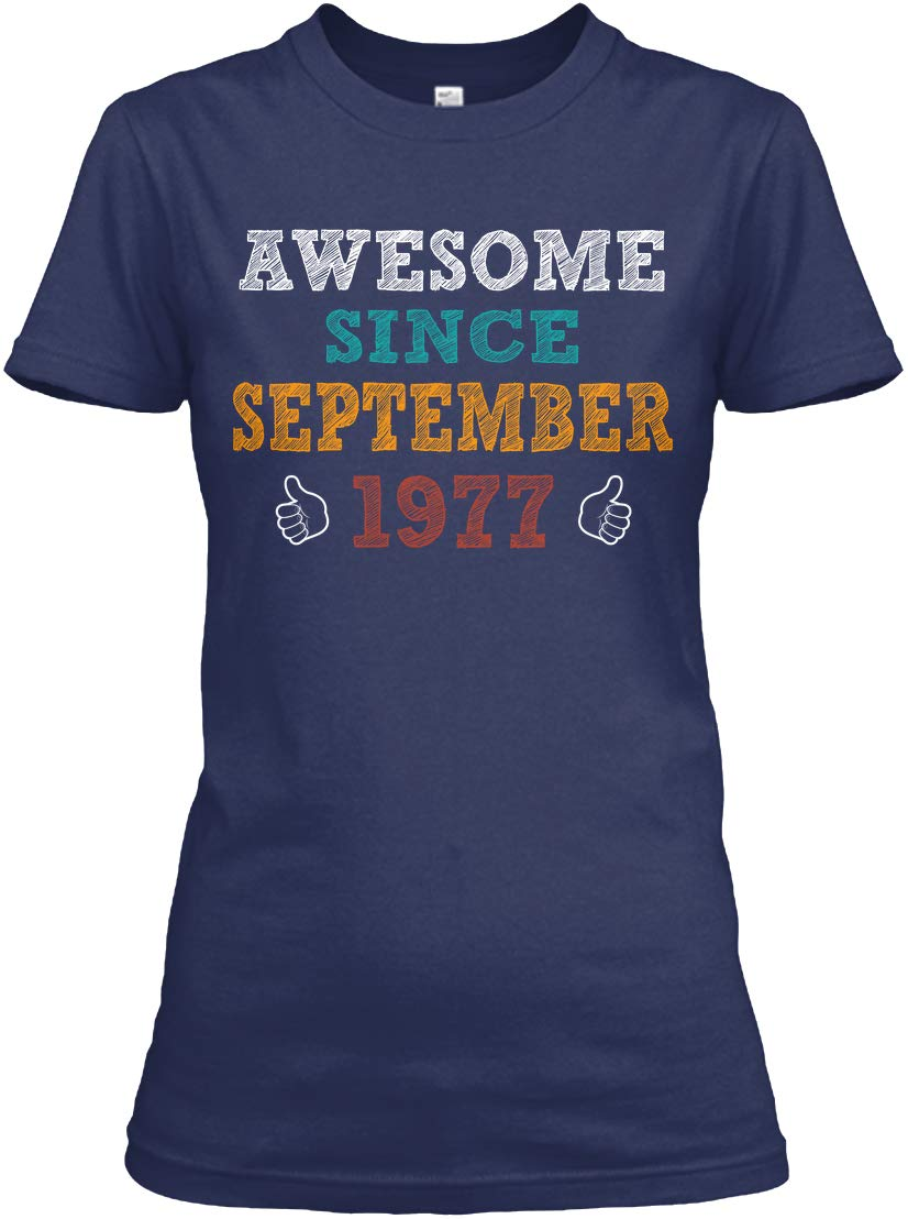 Awesome Since September 1977 Relaxed Shirts