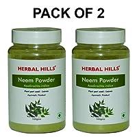 Herbal Hills Neem Powder - 100g Each (Pack of 2) Bottle