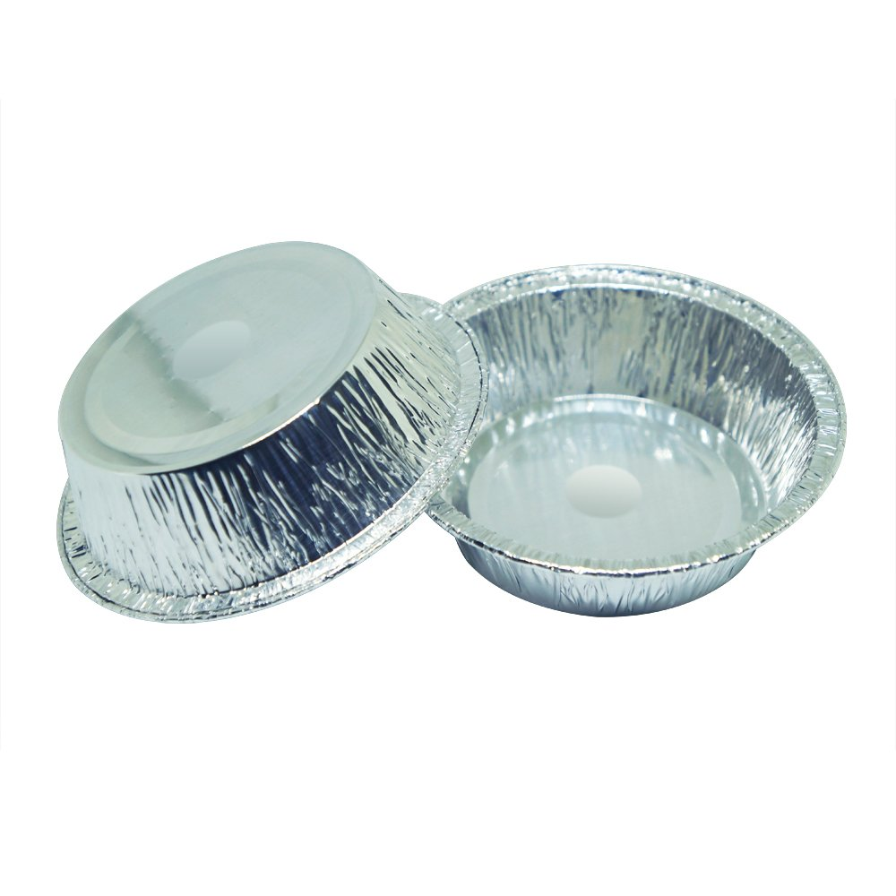 MYStar 4'' Disposable Aluminum Foil, Mini Pie/Tarts Baking Cups, Pack of 70