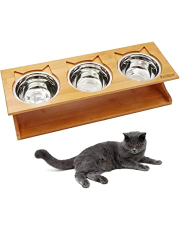 Cuencos Antideslizantes-plato Gatos De Acero Inoxi Popular Brand Zubita Comederos Para Gatos Dishes, Feeders & Fountains