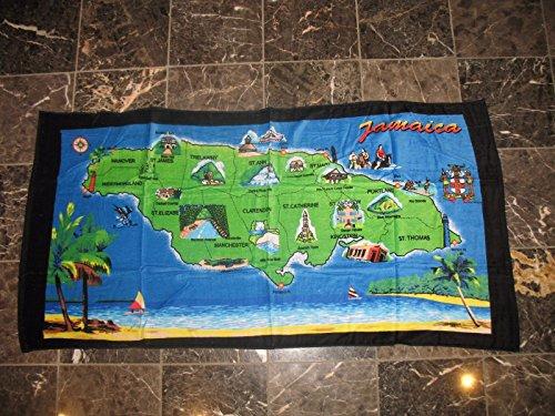 K's Novelties Jamaican Jamaica Map 30