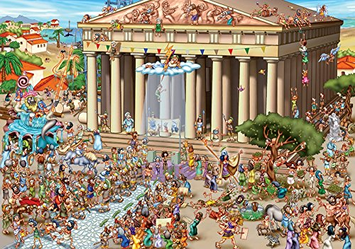 Acropolis of Athens (Cartoon Collection)