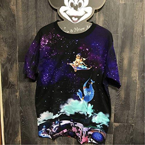 東京ディズニーリゾート限定アラジン アラジン ジャスミン ジーニー ジャファー インクジェットTシャツ Mサイズの商品画像