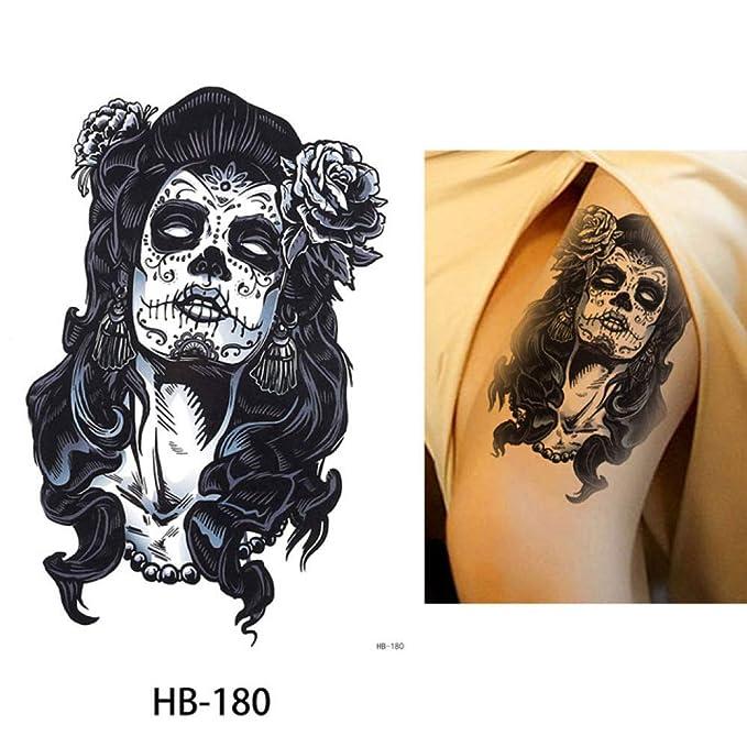 adgkitb Etiqueta engomada del Tatuaje Temporal 3pcs Gorrión HB-180 ...