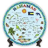 Rockin Gear Decorative Mini Plate - Bahamas Blue