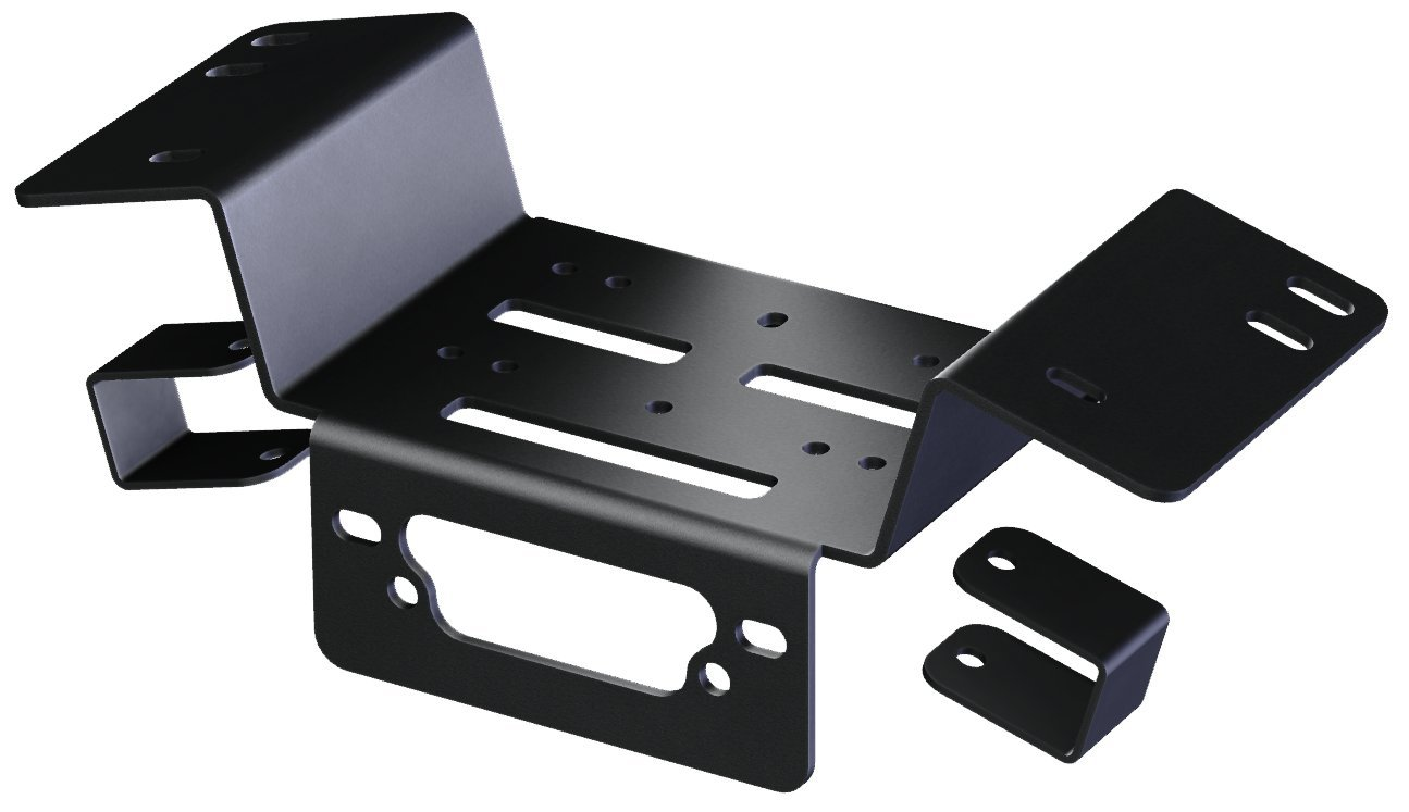 KFI Products 101150 Winch Mount for Honda Pioneer by KFI Products