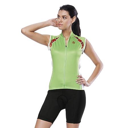YGBH MTB Ciclismo Jersey Conjunto de Mujer Traje Triatlón Cómodo ...