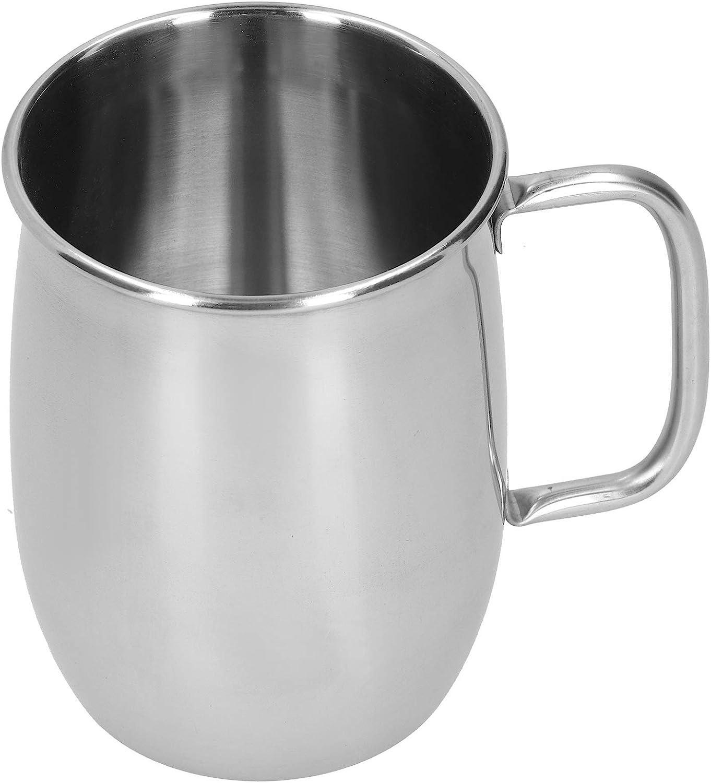 Taza de cerveza de acero inoxidable con asa, barra de vino portátil, taza de agua, taza de café, vasos 1000 ml