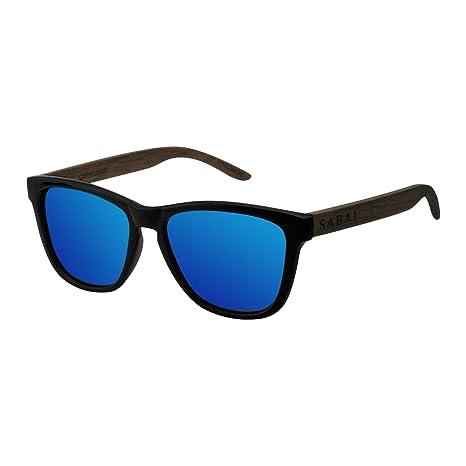 SABAI Wave- Gafas de Sol Polarizadas Marco Mate Lente Azul: Amazon.es: Ropa y accesorios