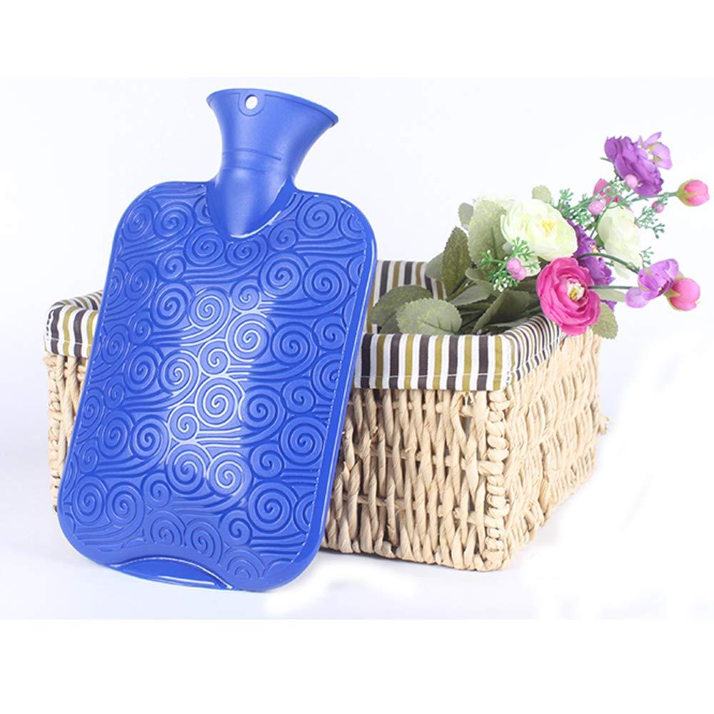Home-Neat Premium W/ärmflasche mit Bezug Grau Weich W/ärmflasche Klassik 2L mit Pl/üsch-Bezug,kein Geruch und Frei von Schadstoffen Grau W/ärmflasche f/ür Erwachsene Eltern Kinder