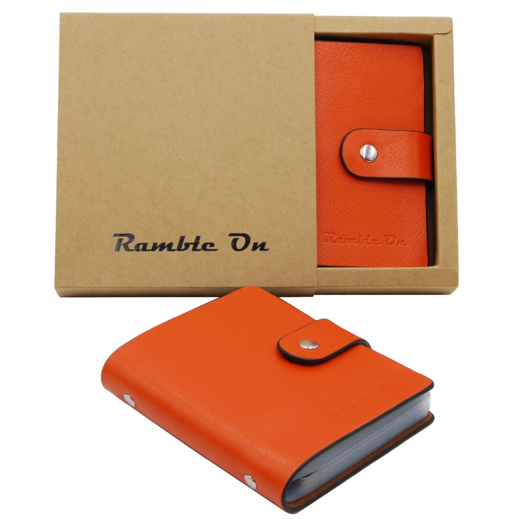 Business Card / Credit Card Holder Case Wallet by Ramble On – Holds ...