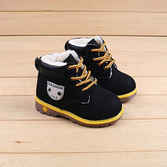 Toddler Baby Girls Kids Child Martin Boots Sneaker Cuekondy Casual Camouflage Lace Up Winter Ankle Snow Boots Shoes