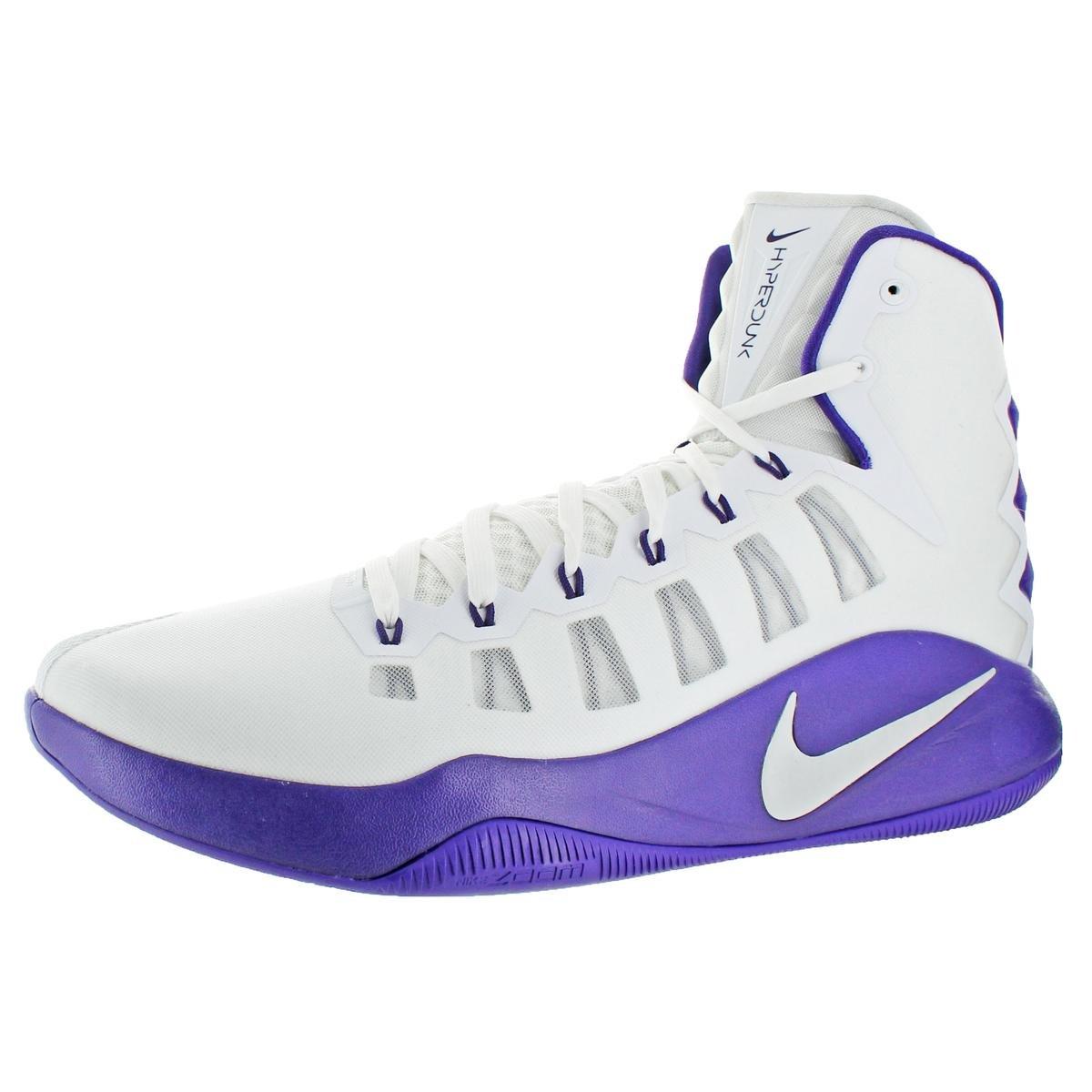 NIKE Hyperdunk 2016 Men's Mesh Hightop Basketball Trainer Shoes White Size 18