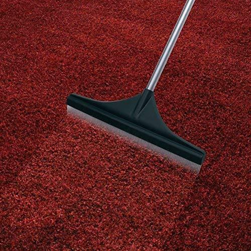 ORIENTOOLS Turf Rake, Ergonomic Adjustable Lightweight Steel Handle, Plastic Head PA brush, 32 to 52 inches, Carpet Rake by ORIENTOOLS (Image #7)