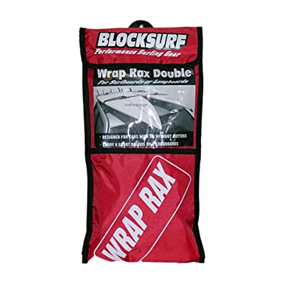 Block Surf Wrap-Rax Soft Rack Double : Surfboard Car Racks : Sports & Outdoors
