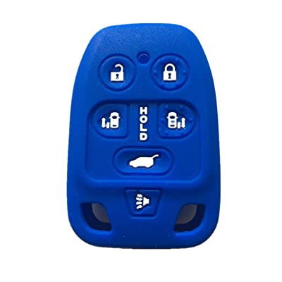 Rpkey 6 button Silicone Keyless Entry Remote Control Key Fob Cover Case protector For 2011 2012 2013 Honda Odyssey N5F-A04TAA 3248A-A04TAA 35118-TK8-A20 35118-TK8-A30 35118-TK8-A40: Automotive