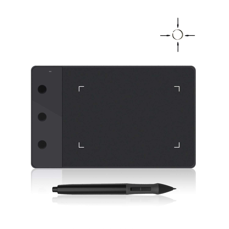 HUION H420 - Tableta digitalizadora, con 3 Acceso Directo, tamaño 10 x 5.6 cm …