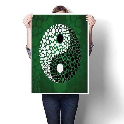 Amazon.com: SCOCICI1588 DIY 3D Painting Digital Made Yin ...
