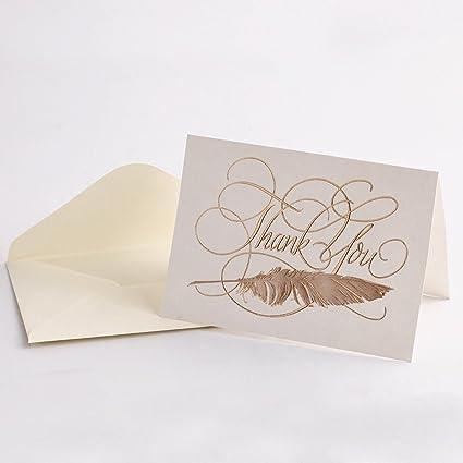 Amazon Thank You Cards White Envelopes 20 Packs With Luxury