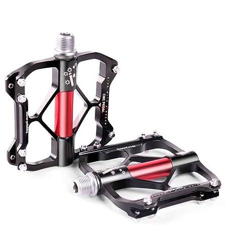 Liuxiaomiao Pedales de Bicicleta MTB Pedal Antideslizante y ...