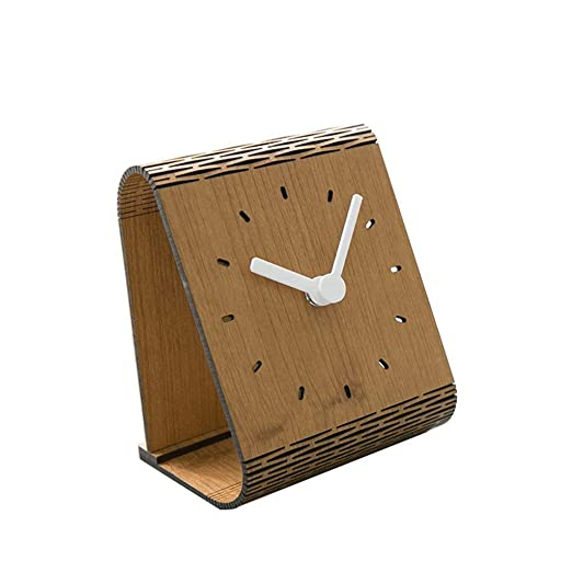 Despertador Mesa Reloj Mute Escritorio Estilo nórdico Mesita de ...