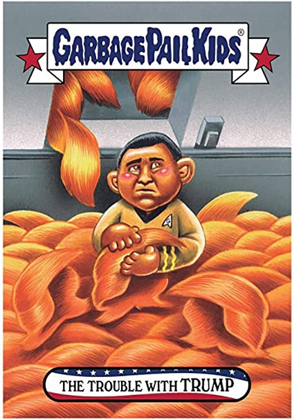 Card 78 GPK Drain Swamp TRUMP Disgrace To The White House