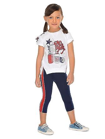 3ed4bb4e0 Mayoral - Leggings Set for Girls - 3707, Navy: Amazon.co.uk: Clothing
